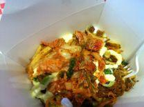 Kimchi Fries and Bahn MI Boys