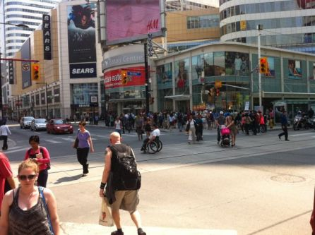 Young and Dundas Square, TO